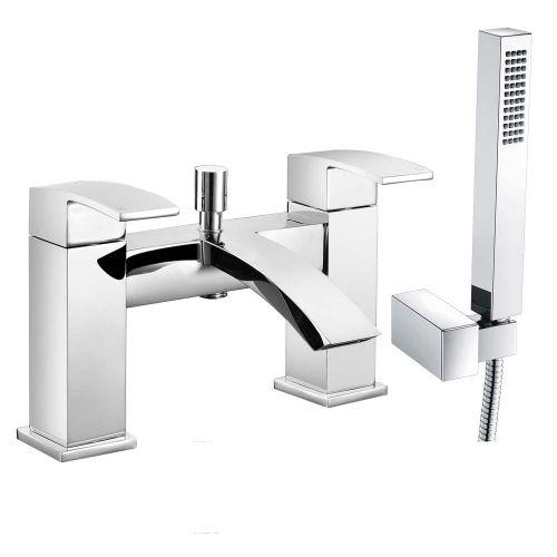 Irwell Bath Shower Mixer with Shower Kit - By Voda Design
