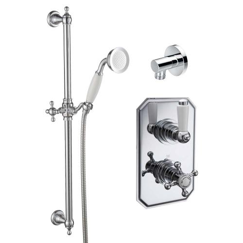 Tiber Traditional Concecealed Thermostatic Shower Set  - By Voda Design