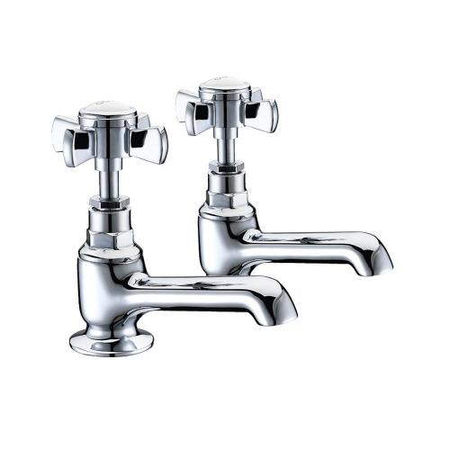 Brook Bath Taps (Pair) - By Voda Design